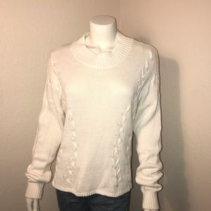 Vintage LNA cable knit sweater